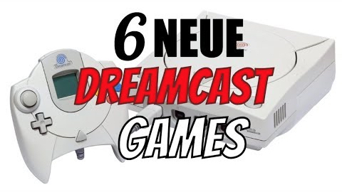 6 NEUE DREAMCAST Games