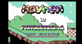 Mayhem in Monsterland ( C64 Game )